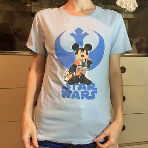 Walt Disney World Mickey Mouse Star Wars Tee